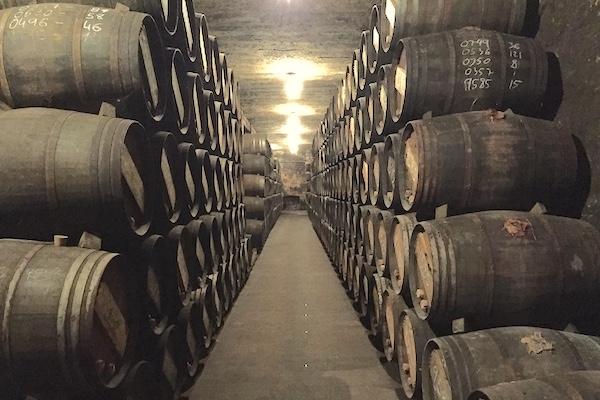 Im Keller bei Vina Tondonia