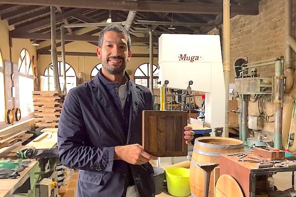 Muga ist nur eins von zwei Weingütern in Haro mit Küferei