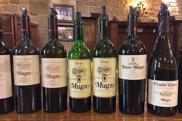 Phantastisches Wine-Up bei Muga
