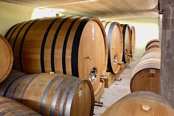 Im Weinkeller von Artuke