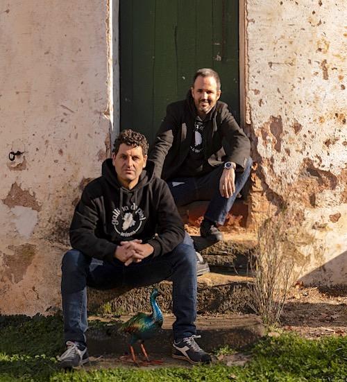 David Seijas (links) und Guillem Sanz. Die Macher von Gallina de Piel.